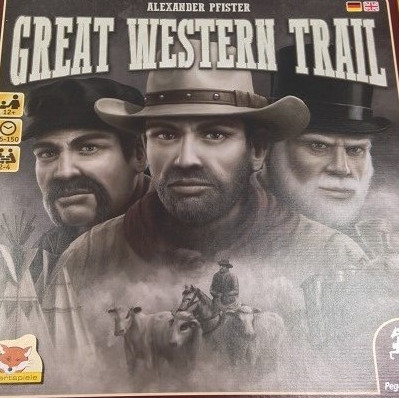 Great Western Trail – Pegasus/Eggertspiele – 2016