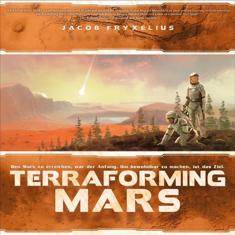 Terraforming Mars – Schwerkraft Verlag – 2016