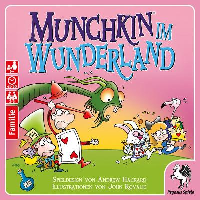 Munchkin im Wunderland – Pegasus – 2017