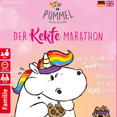 Pummeleinhorn – Der Kekfe Marathon – Pegasus – 2017