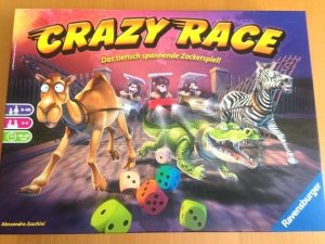 Rezension – Crazy Race – Ravensburger – 2017