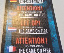 Spielstil Kurzrezension – The Game: On Fire – NSV – 2015