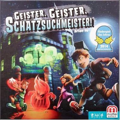 Geister, Geister, Schatzsuchmeister – Mattel Games – 2013