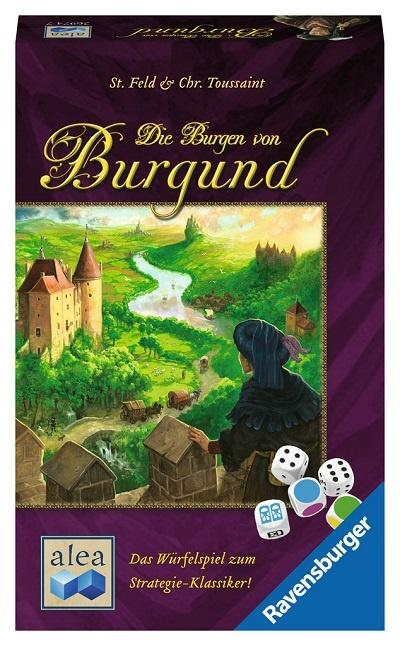 Die Burgen von Burgund das Würfelspiel – Alea – 2017