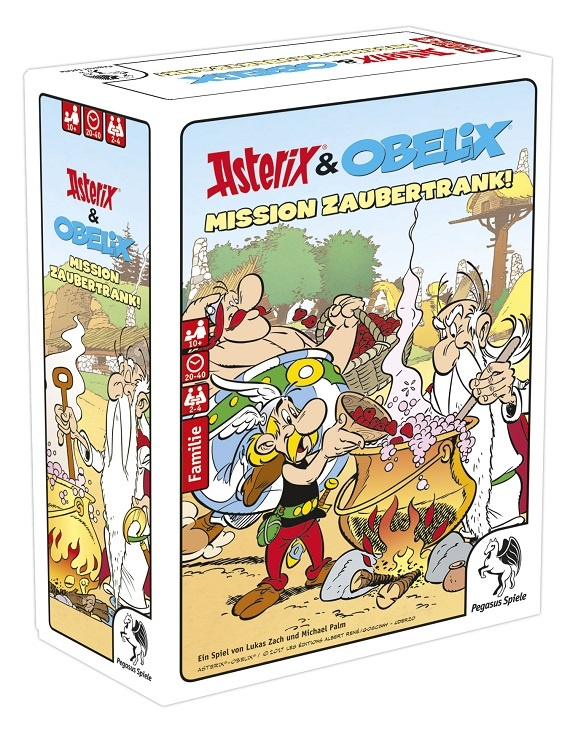 Asterix & Obelix Mission Zaubertrank – Pegasus 2017