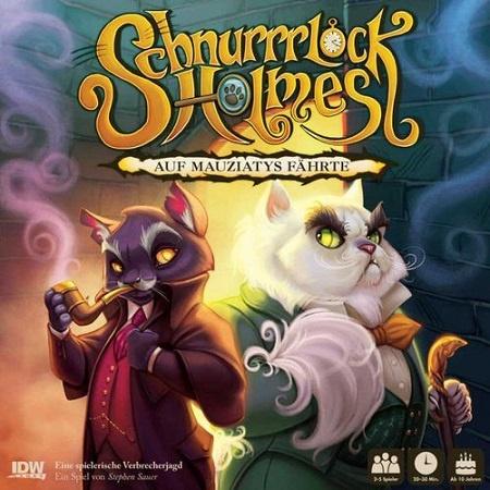 Schnurrrlock Holmes – Asmodee – 2018