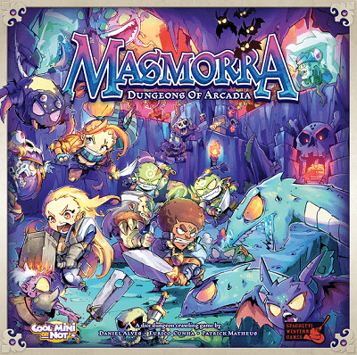 Masmorra: Dungeons of Arcadia – Cool Mini or Not – 2017