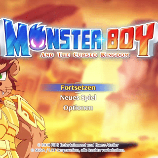 Monster Boy and the cursed Kingdom – PS4 – FDG Entertainment
