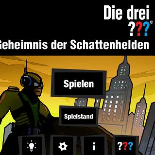 Die drei ??? Geheimnis der Schattenhelden – iOS – USM