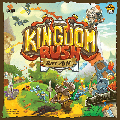 Kingdom Rush – Lucky Duck Games – Kickstarter-Prototyp