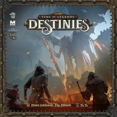 Time of Legends: Destinies – Lucky Duck Games – Kickstarter 2019