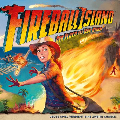 Fireball Island – Asmodee – 2019