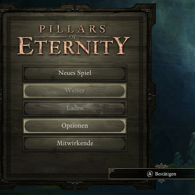 Pillars of Eternity – Switch