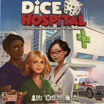 Dice Hospital - Cover