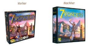 7 Wonders - Neuauflage - Cover