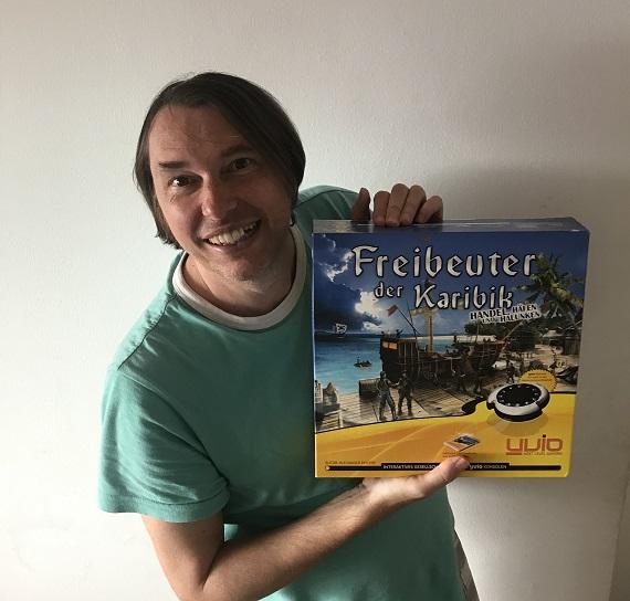 Alexander Pfister mit Freibeuter der Karibik