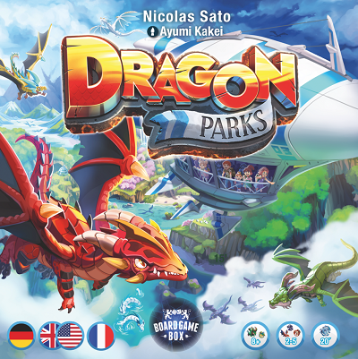 Dragon Parks - Box - Cover