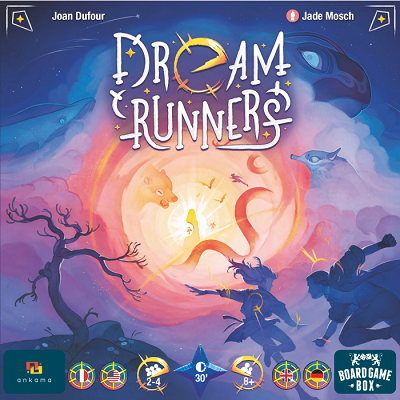 Dream Runners - Board Game Box - Cover
