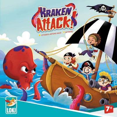 Kraken Attack - Cover