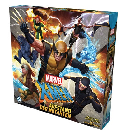 X-Men Aufstand der Mutanten - Box