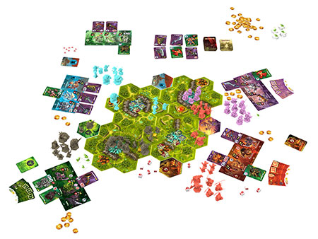 Clash of Rage - Spielsituation
