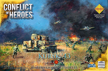 Conflict of Heroes - Kursk - Cover