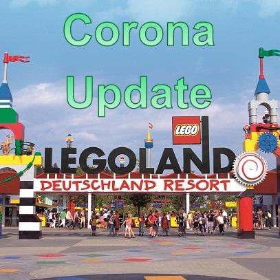 Legoland - Eingang - Coronaupdate - Vorschau