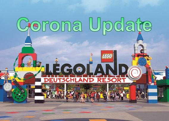 Legoland - Eingang - Coronaupdate