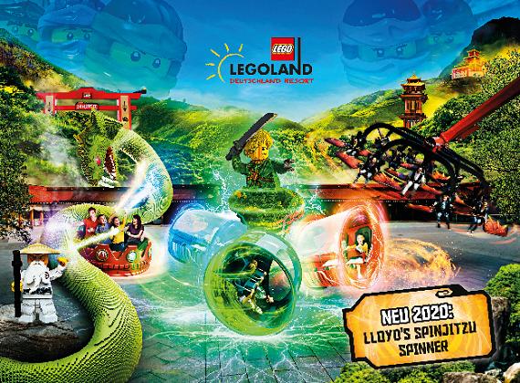 Legoland Lloyds Spinjitzu Spinner