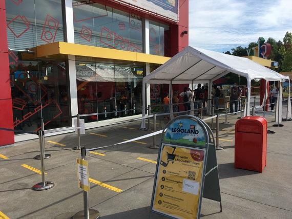 Legoland - Shop - Zugang