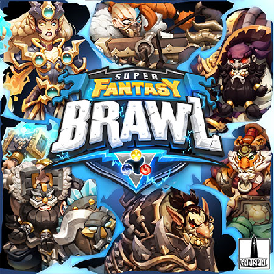 Super Fantasy Brawl - Cover