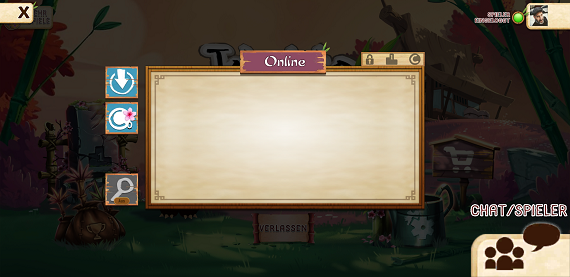 Takenoko App - Online Spielersuche