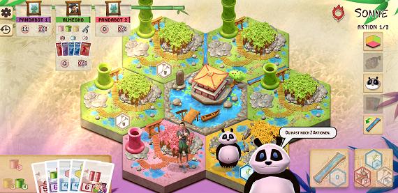 Takenoko App - Spielsituation