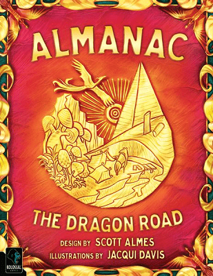 Almanac the Dragon Road - Cover