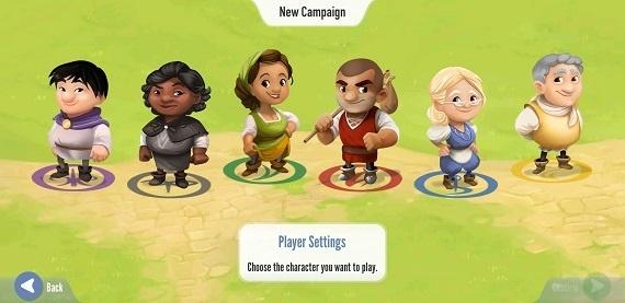 Charterstone - Spielerauswahl