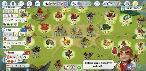 Charterstone - Spielsituation 2