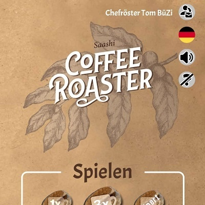 Coffee Roaster - Cover