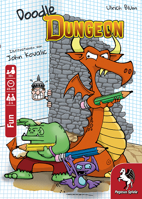 Doodle Dungeon - Cover