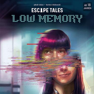 Escape Tales - Low Memory - Cover