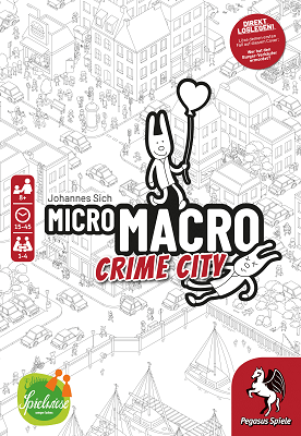 Micro Macro Crime City - Cover