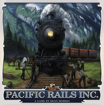 Pacific Rails - Cover