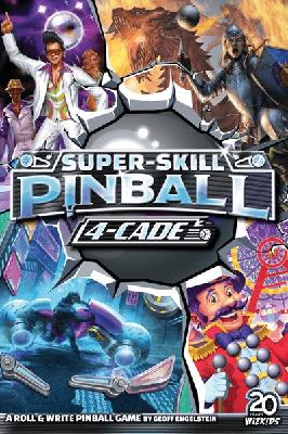 Super Skill Pinball 4-Cade - Cover