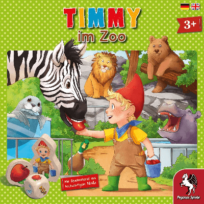 Timmy im Zoo - Cover