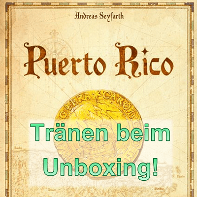 Puerto Rico Unboxing Cover