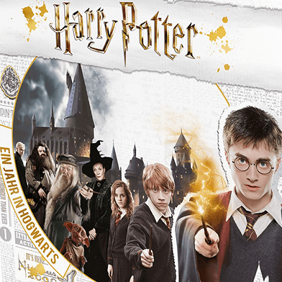 Harry Potter: Ein Jahr in Hogwart - Cover