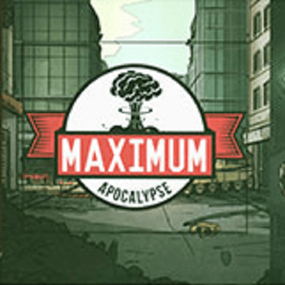 Maximum Apocalypse - Cover