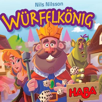 Würfelkönig - Cover