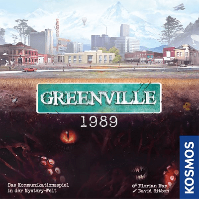 Greenville 1989 - Cover