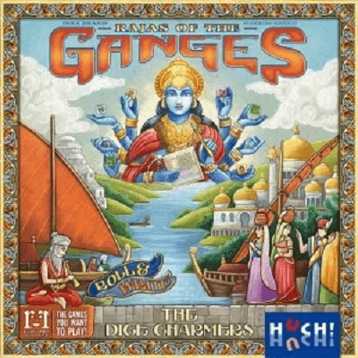Rajas of the ganges the dice charmers - Cover