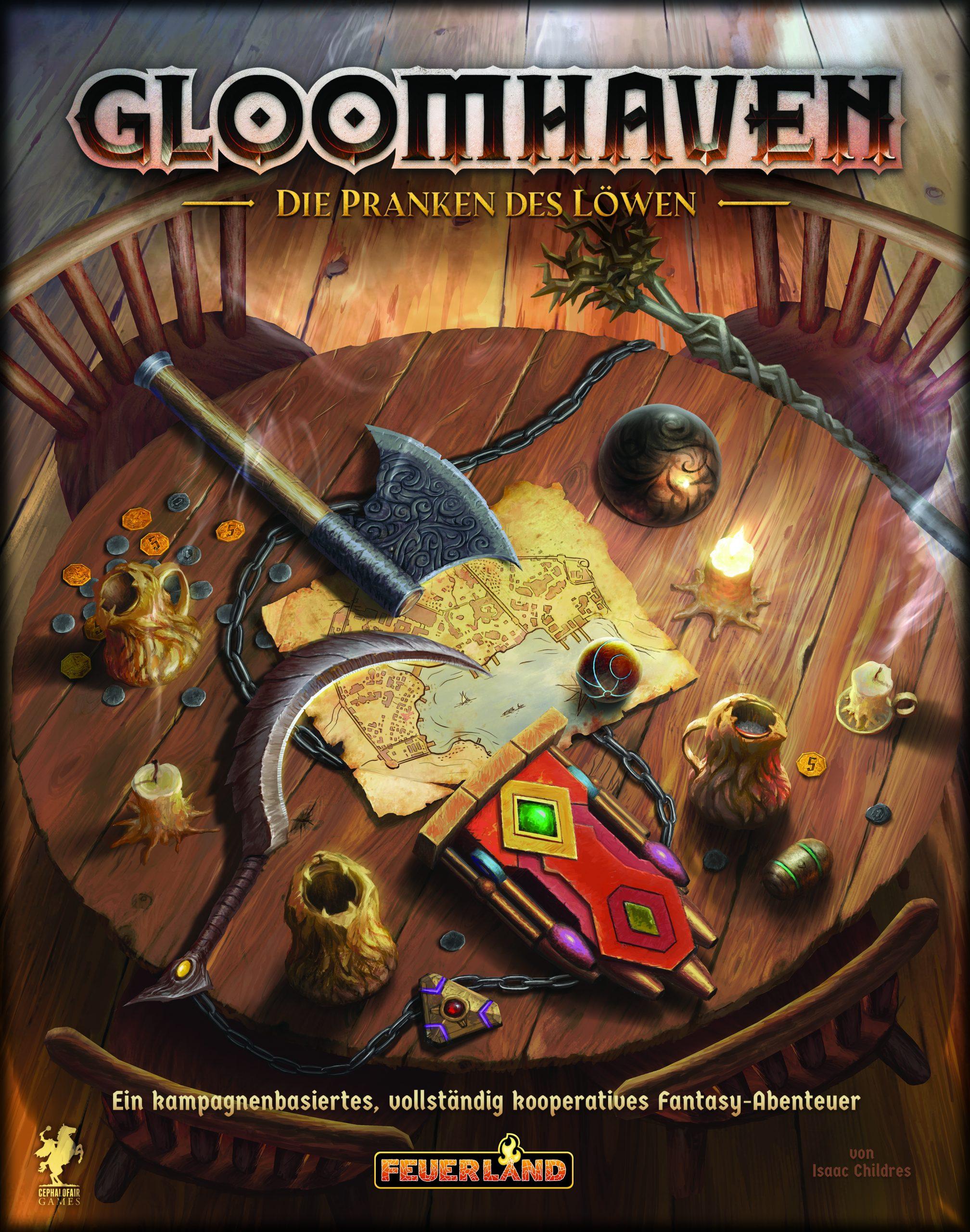 Gloomhaven: Die Pranken des Löwen